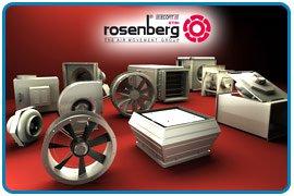 Вентиляционное оборудование немецкого ROSENBERG